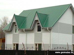 Профлист для крыши зеленый С20 RAL6002