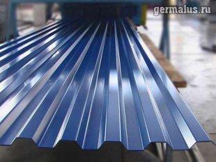 Профлист от производителя С21 RAL5002 (синий)